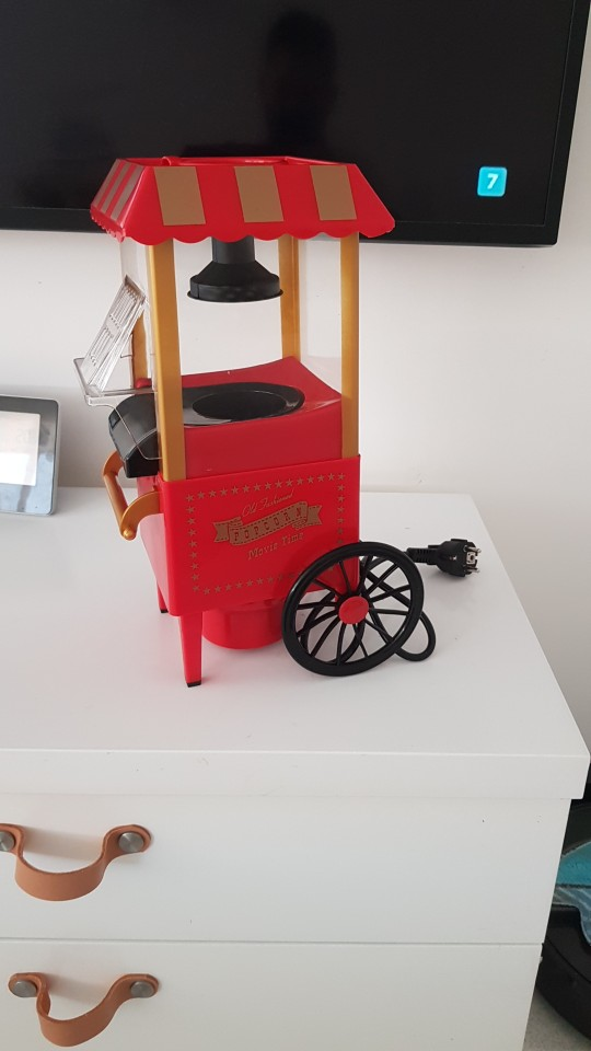 Classic Car Popcorn Machine photo review