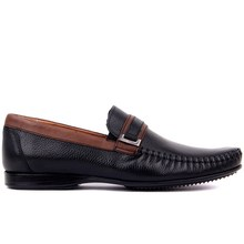 Sail Lakers  Genuine Leather 2020 Men Shoes Casual Shoe Black Mens Footwear Size 39 45 Made in Turkey