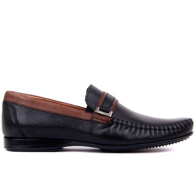 Segel Lakers Echtes Leder 2020 Männer Schuhe Casual Schuh Schwarz männer Schuhe Größe 39 45 Made in türkei
