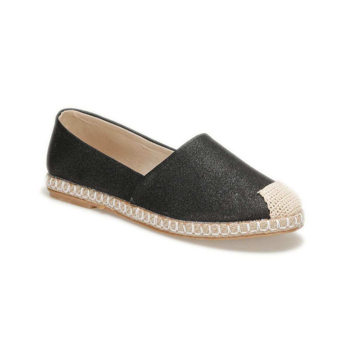 FLO OKOCHA85Z Black Women Espadril Shoes BUTIGO