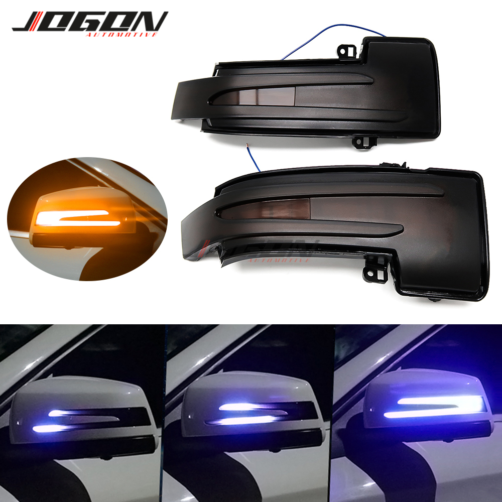 LED Dynamic Indicator Sequential Light For Benz ML W166 GL X166 GLS GLE G W463