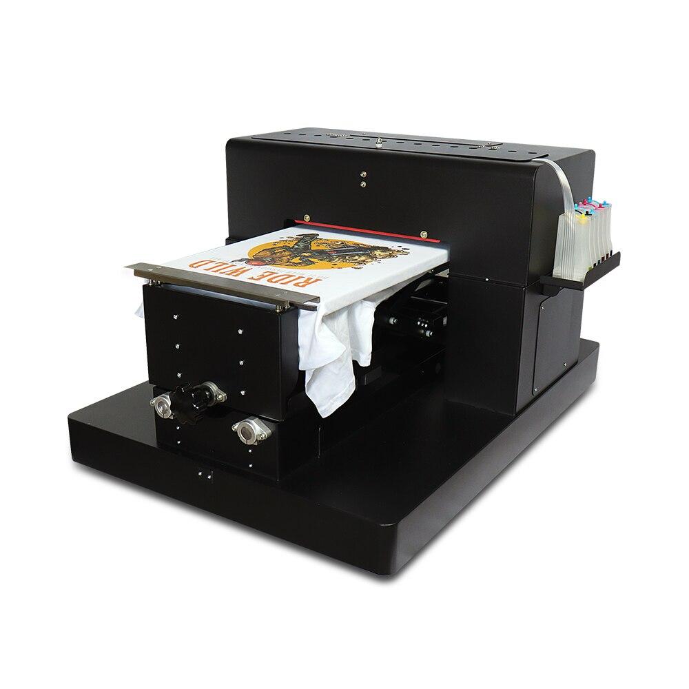 Многоцветный A3 планшетный Принтер DTG цифровой принтер для одежды Печатный Темный светильник планшетный принтер для футболки одежда печатная машина