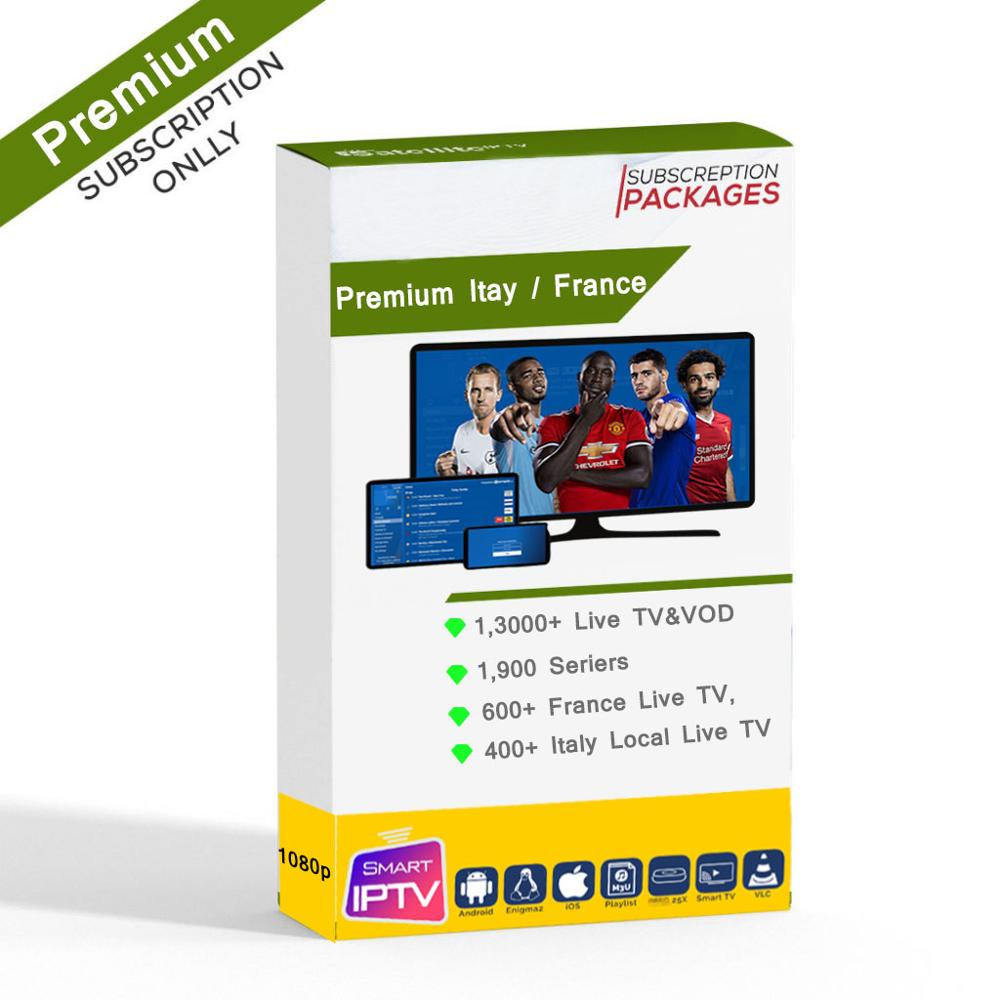France IPTV Subscription Premium Stable 4000+Live Italia Germany Italian Albania France For M3U Android Enigma2