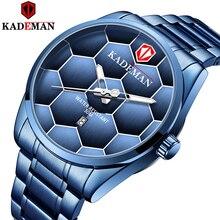 Kademan Soccer Watch Men Mens Watches Top Brand Lux