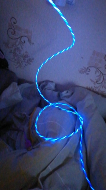 LED Glow Flowing Data USB Charger Type C/Micro USB/8 Pin Charging Cable for iPhone X Samsung Galaxy S9 S8 Charge Wire Cord-in Mobile Phone Cables from Cellphones & Telecommunications on AliExpress