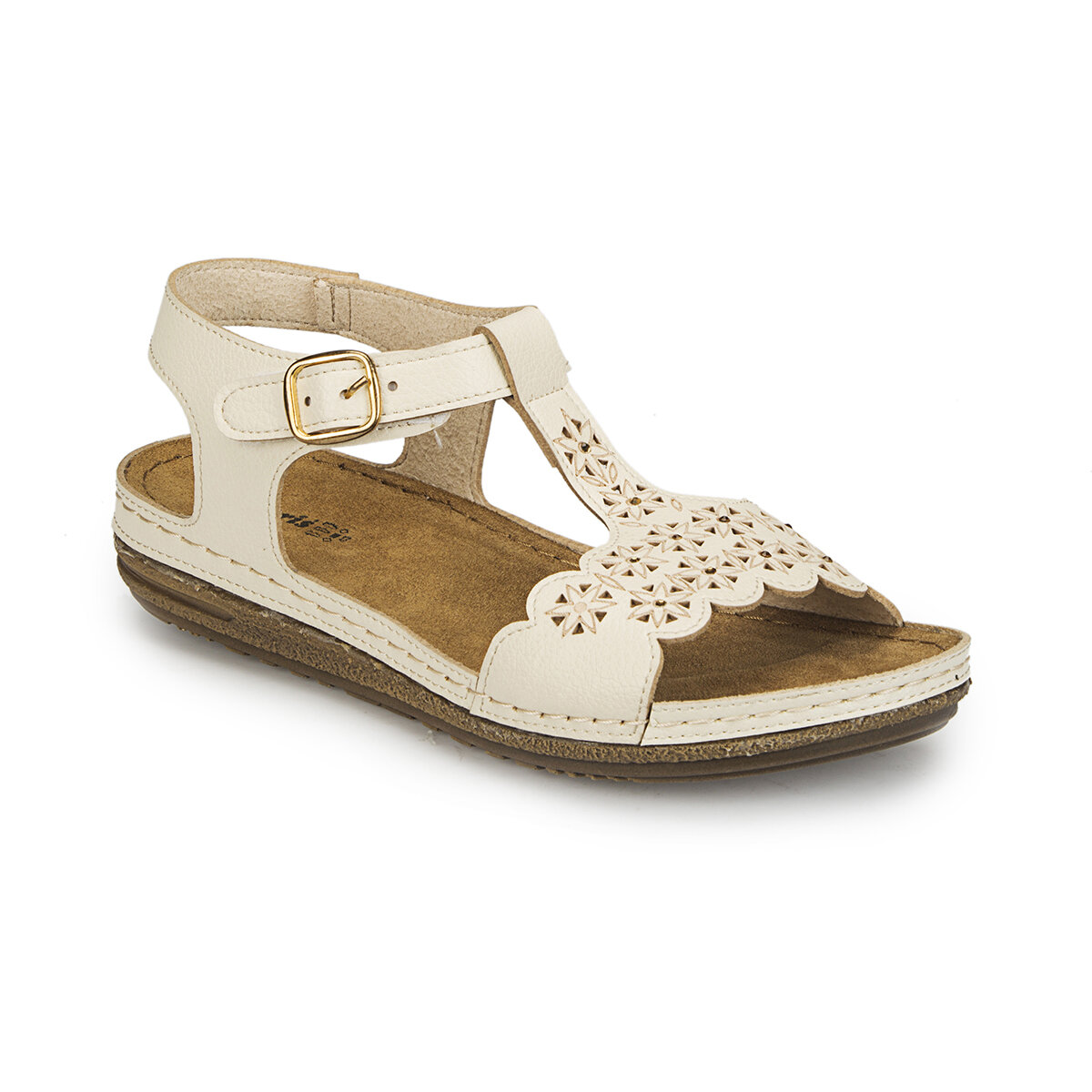 FLO 81. 158550.Z Beige Women Basic Comfort Polaris|Women's Sandals| |  - title=