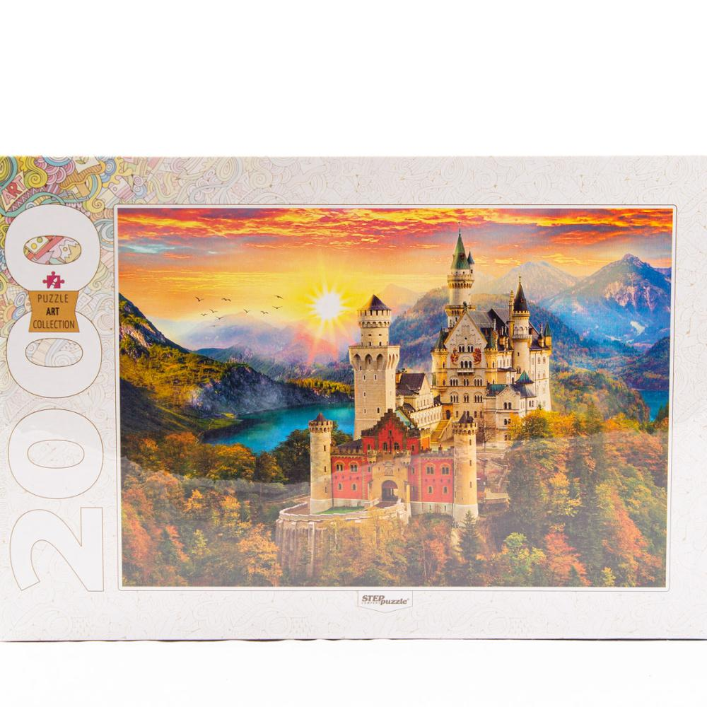 Puzzle 2000 Element Parts Fairy Tale Castle 84031 Art Collection Step Collection Landscape Travel Nature Beauty