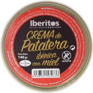 Iberitos-tray 10x140g IBERITOS PATATERA cream with honey
