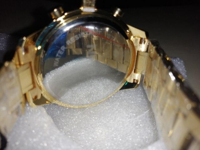 Relógios de quartzo masculino masculino homens