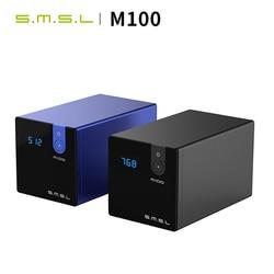 SMSL M100 DAC USB Digital-to-Analog Converter hifi decoder AK4452 DSD512 32Bit/768kHz Coaxial Optical OTG Input AUX Power