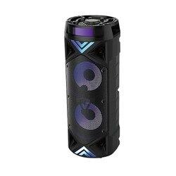 Акустическая система BT Speaker USB Bluetooth комбо колонка усилитель звук сабвуфер уличный чемодан микрофон акустика FM звук