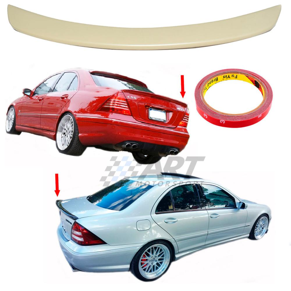 <font><b>Spoiler</b></font> for Mercedes C Class <font><b>W203</b></font> sedan made from Abs plastic image