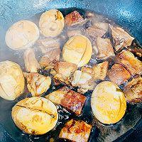 """#美食说出""""新年好""""#年味红烧肉排蛋的做法图解8"""