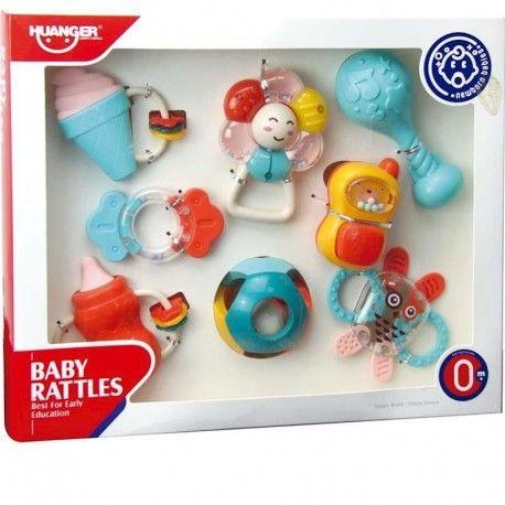 BOX 8 RATTLES & TEETHERS JUGATOYS