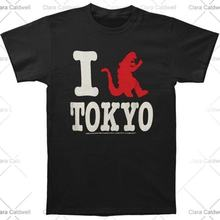 В продаже; Новинка; Футболка с надписью «i Токио Мужская хлопковая