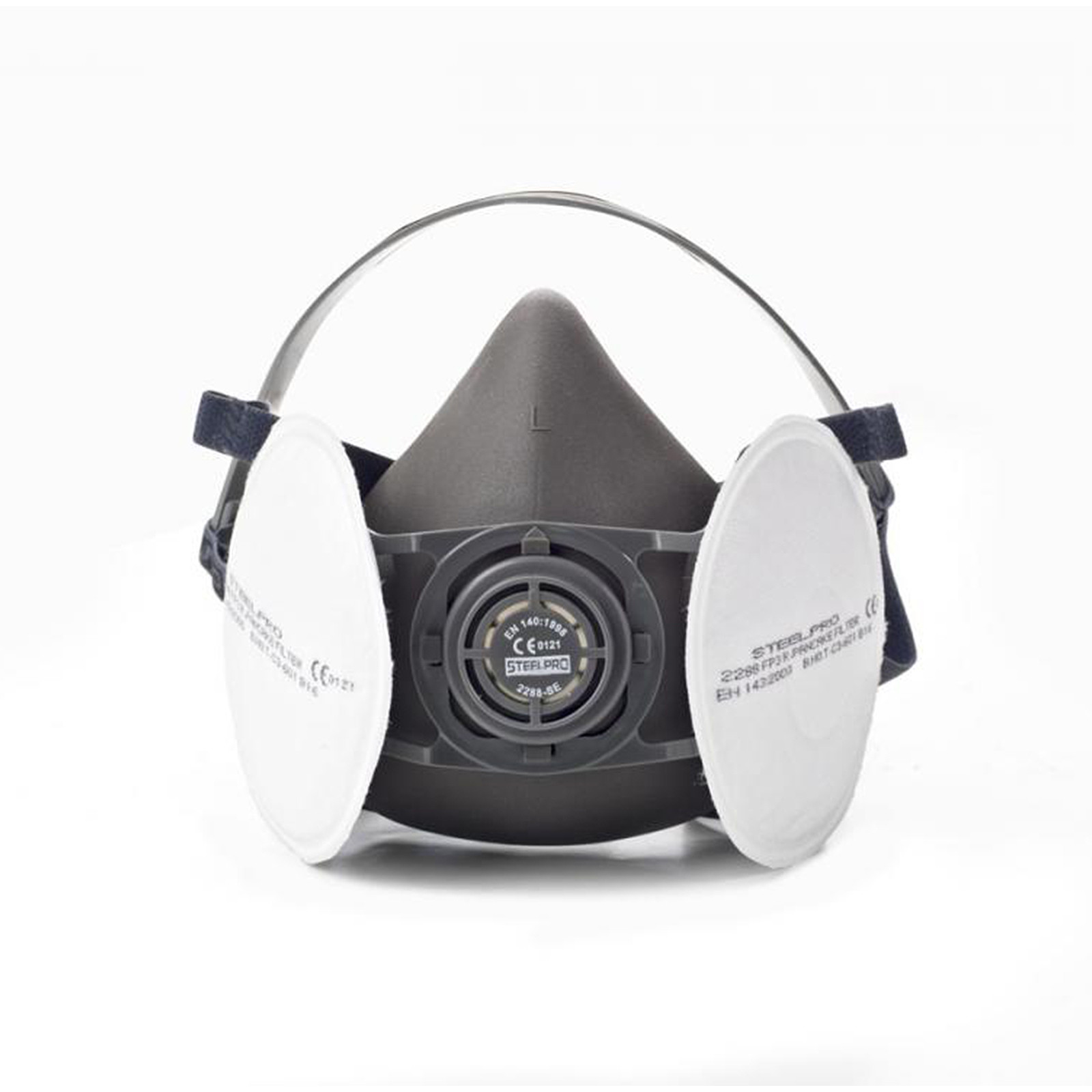 Face Mask Semi Mask Steelpro Con Filtro De Protection FP3 Reusable Size L