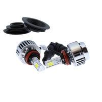 LED lamps H8 H9 H11 Car and Moto Yatek  lights's crossover  6000 K  3300 lumens  12 V  36 W  instant lit|LED Bulbs & Tubes|   -