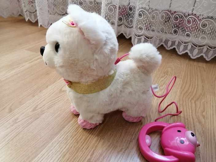 Где купить Робот-собачка с звуковым управлением, интерактивная электронная игрушка для собак, плюшевые игрушки для щенков, поводок для лай, плюшевые игрушки для детей, подарки на день рождения