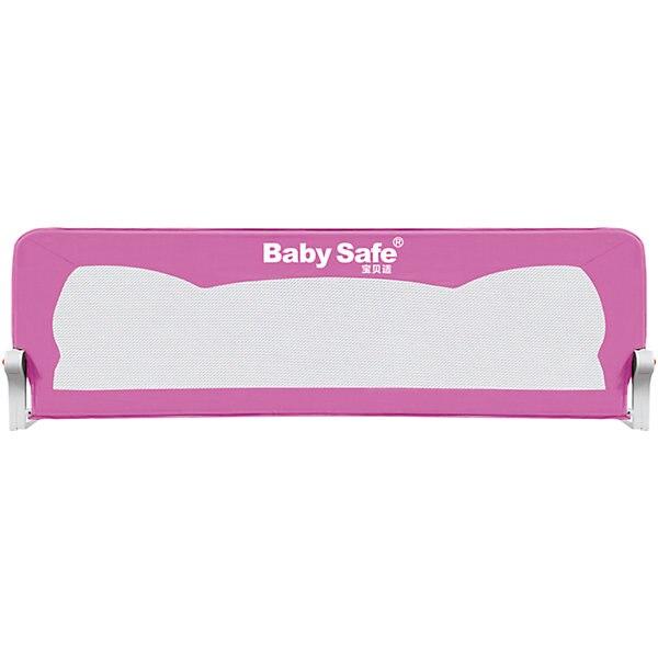 Barrier For Baby Crib Safe Ears 180х42, Pink