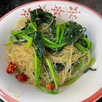 干饭人爱吃的菠菜粉丝煲的做法图解5