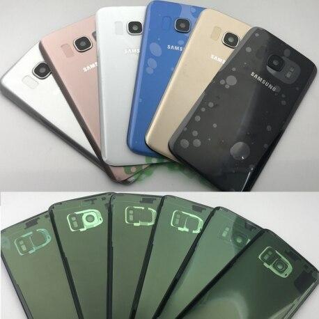 Tapa Trasera De Reemplazo Para Samsung Galaxy S7 Edge Con Lente Camara