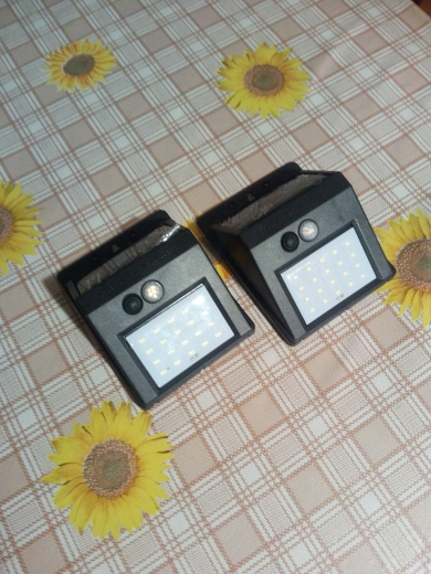 Lâmpadas solares Emergência Emergência Sensor