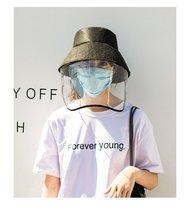 цена на Cap Anti Pollution Anti-fog Saliva Anti-spitting Protective Cap Outdoor Anti-fog Windbreaker Anti-fog Hat Protective Face Cover