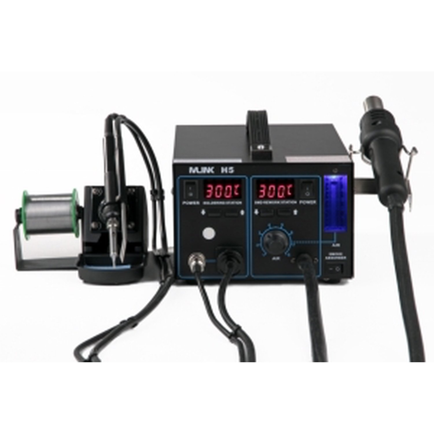 Station 2 In 1 Hot Air Welding And Soldering Iron MLINK H5