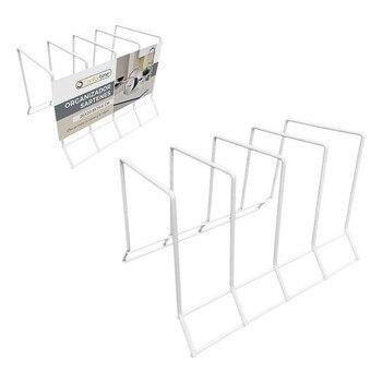 Pan Organizzatore Confortime Metallo Bianco (26X20,9x19,6 Cm)