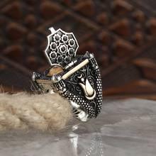 Купить серебрянное мужское кольцо на Алиэкспресс