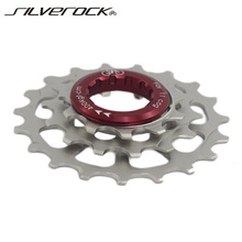 SILVEROCK Freewheel External 3 Speed For Brompton 3Sixty Folding Bike 11t 14t 19t Bicycle Chainwheel Cassette Chrome Sprocket