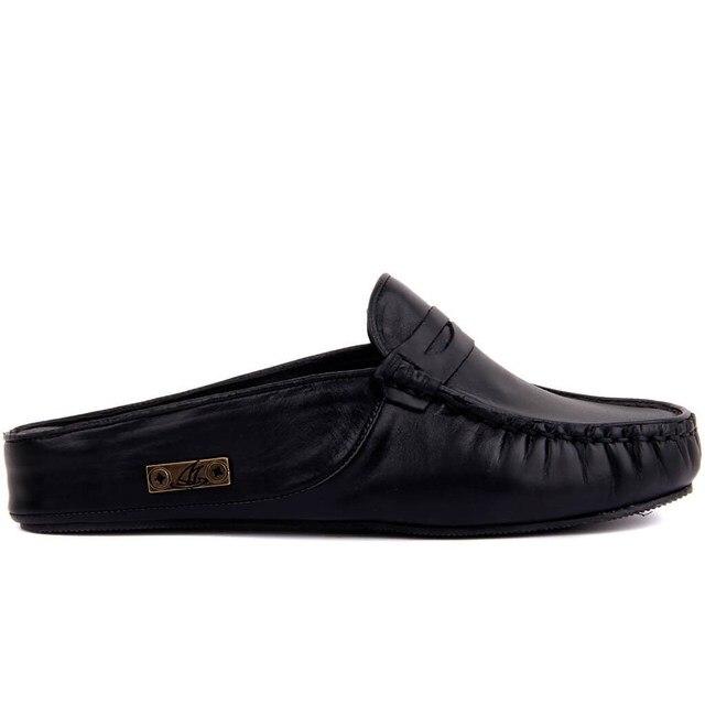 מפרש לייקרס שחור עור נשים של חיצוני נעל
