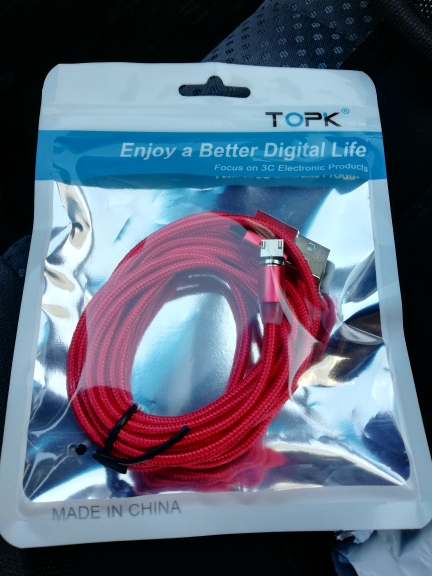 TOPK 1M(3.3ft) LED Magnetic Micro USB Cable , Premium Nylon Braided Magnet Microusb Charger Cable for Micro USB Port|cable for|cable for micro usbmicro usb cable - AliExpress