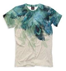 T-Shirt da uomo piume