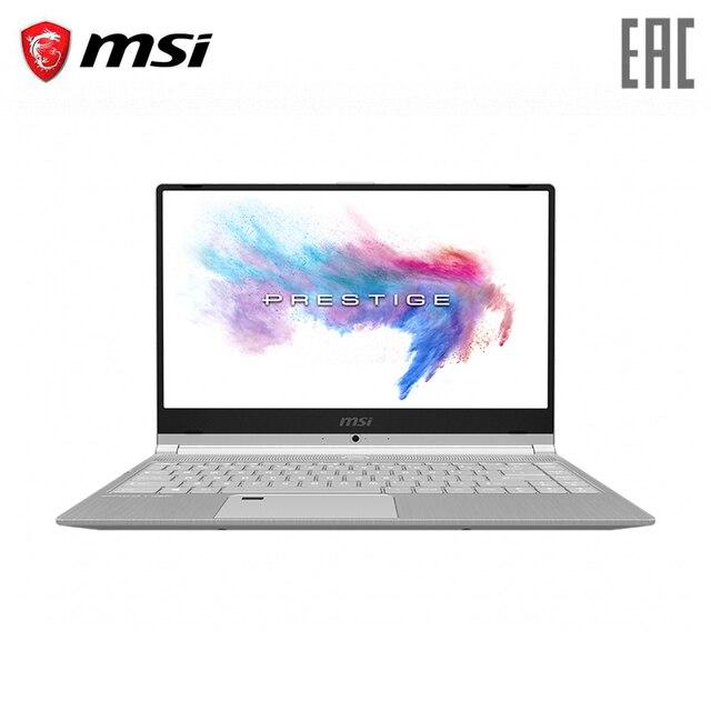 """Ноутбук MSI PS42 8MO-432RU 14"""" FHD IPS 60Hz/i7-8565U/8GB DDR IV/256GB SSD/UMA/Win 10 Silver (9S7-14B341-432)"""