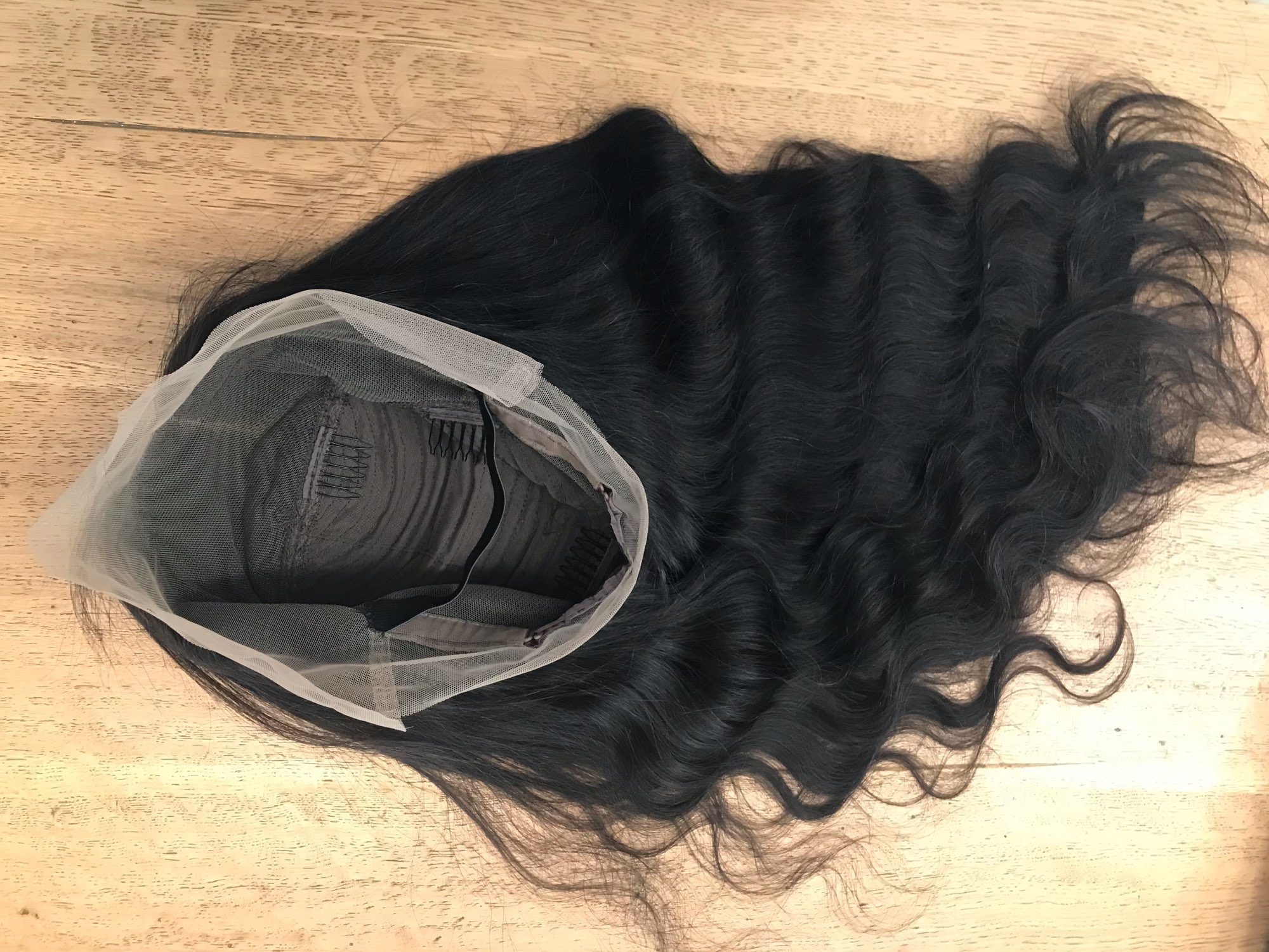 Body Wave Frontal Wig Human Hair Pre Plucked Bleach knots wigs 360 Lace Frontal Wig photo review