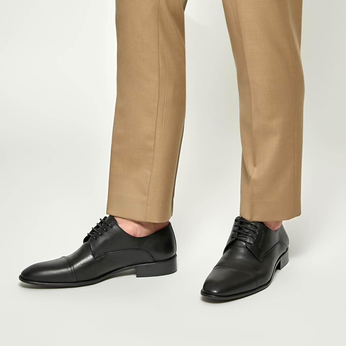 FLO SOLOMON Black Male Shoes MERCEDES