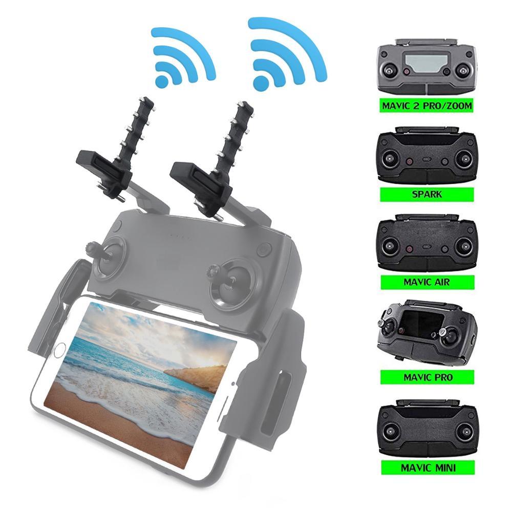 Mavic Controller Sinyal Booster Antena Range Extender Untuk Dji Spark Mavic Air Mavic 2 Mavic Min 2 5 3 5km Yagi Uda Antena Transmisi Aliexpress