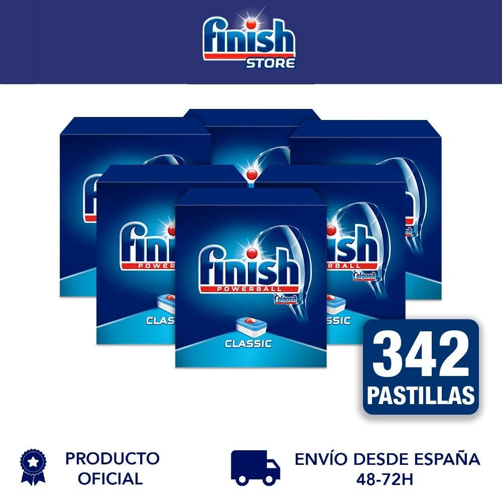 Классические прокладки для посудомоечной машины Finish Powerball, ежедневная уборка, упаковка из 6 - 342 таблеток