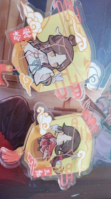 Anime Tian Guan Ci Fu Hua Cheng Xie Lian Antiquity Cartoon Fridge Magnet Creative Decorative Cute Tiles Refrigerator Magnets photo review