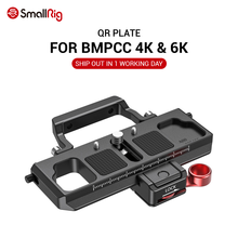 SmallRig DSLR מצלמה שחרור מהיר צלחת אופסט ערכת BMPCC 4K & 6K & ללא מעצורים S מנוף 2 moza אוויר 2 Gimbal 2403