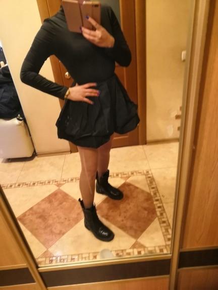 Solid Long Sleeve Mini Bud Dress  Party Dress  Black Dress Women Dress|Dresses|   - AliExpress