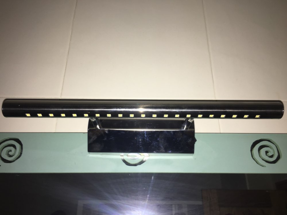 Luminárias de parede Quente washroon Parede