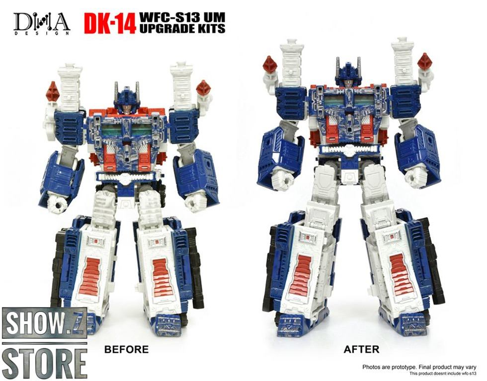 [Show.Z Store] DNA Design DK-14 DK14 Upgrade Kit For WFC-S13 WFCS13 Ultra Magnus Transformation Action Figure