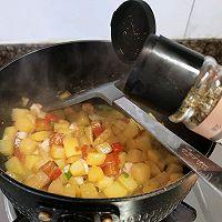 土豆胡萝卜虾仁煲(超级下饭)的做法图解12