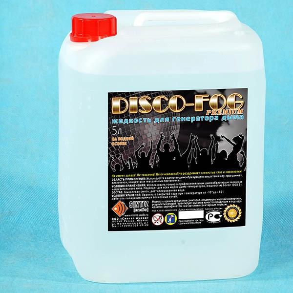DF-premium Disco Fog Liquid For Smoke Generators, Dense, Audio Synthesis