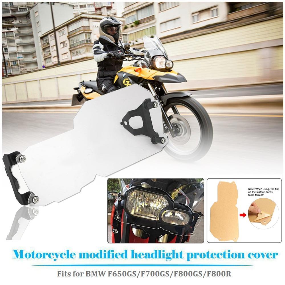Motocykl przedni reflektor folia ochronna na ekran osłona obiektywu osłona Protector dla BMW F650GS F700GS F800GS 2018 2017 2016 2015 2014 2013