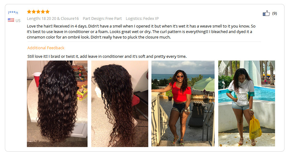 U6862e09dc0104a48ae13094cbe421366Z Cynosure Human Hair Water Wave Bundles with Closure Double Weft Brazilian Hair Weave 3 Bundles With Closure Remy