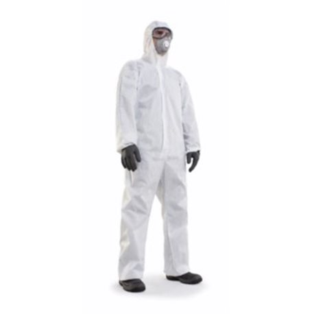 MONKEY WORK XL HOOD DISPOSABLE PP BL PROT-O-SKIN SAFETOP