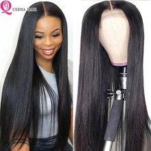 Gerade Natürliche Perücke Pre Gezupft 13x6 Spitze Front Menschliches Haar perücken Für Schwarze Frauen Remy 360 Spitze Frontal perücke Brasilianische Haar Perücken